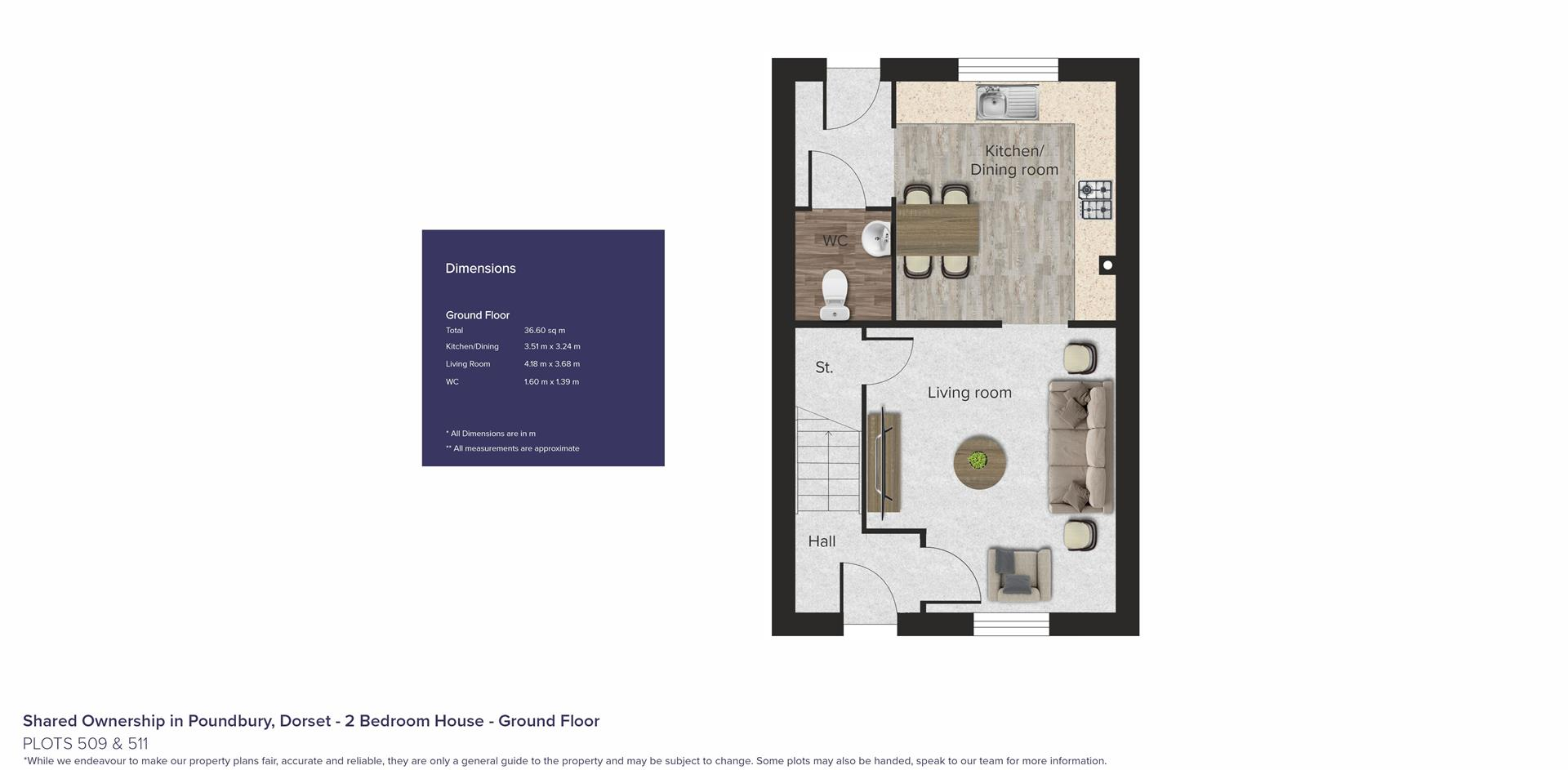Shared Ownership in Poundbury, Dorset_Plots 509 &